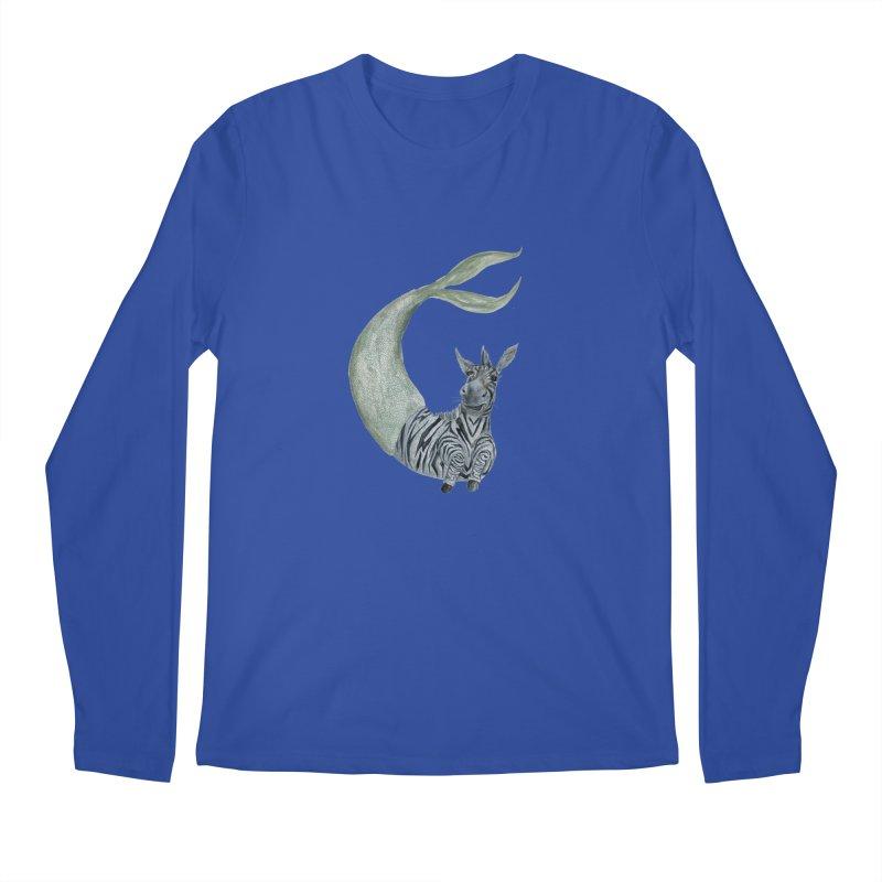 MerBra Men's Regular Longsleeve T-Shirt by FoxandCrow's Artist Shop