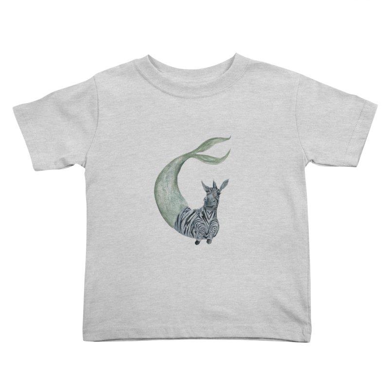 MerBra Kids Toddler T-Shirt by FoxandCrow's Artist Shop
