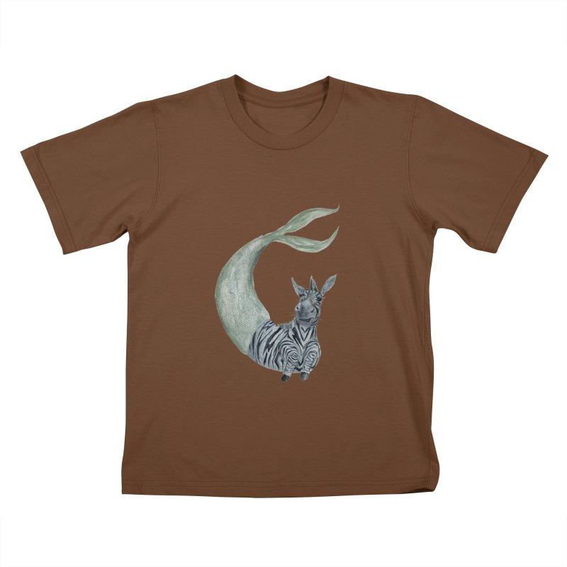 MerBra Kids T-Shirt by FoxandCrow's Artist Shop