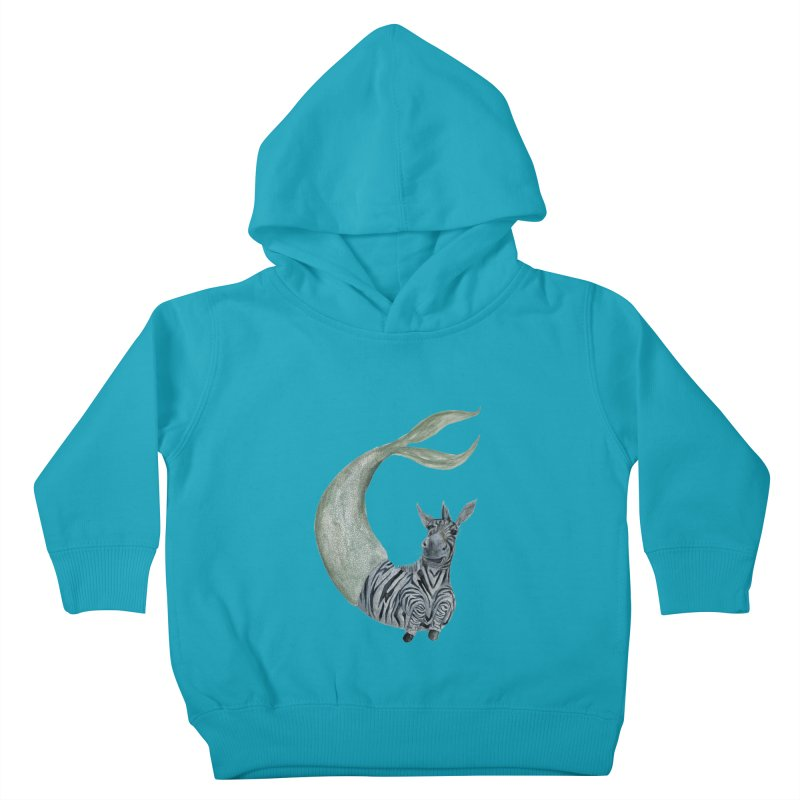 MerBra Kids Toddler Pullover Hoody by FoxandCrow's Artist Shop