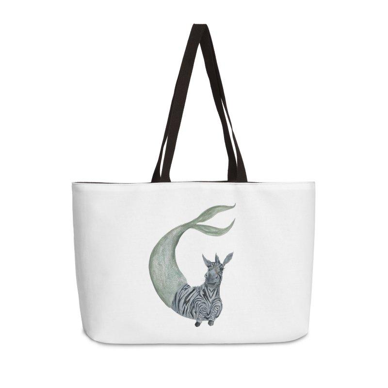 MerBra Accessories Weekender Bag Bag by FoxandCrow's Artist Shop