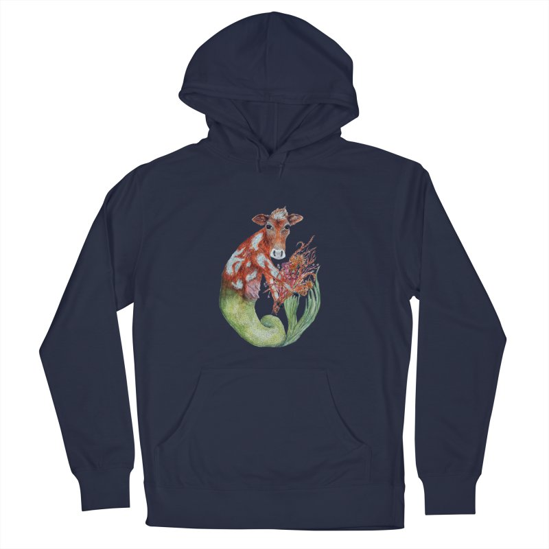 MerMoo Men's Pullover Hoody by FoxandCrow's Artist Shop
