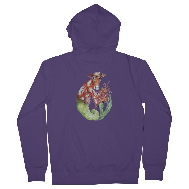 MerMoo Women's Zip-Up Hoody by FoxandCrow's Artist Shop