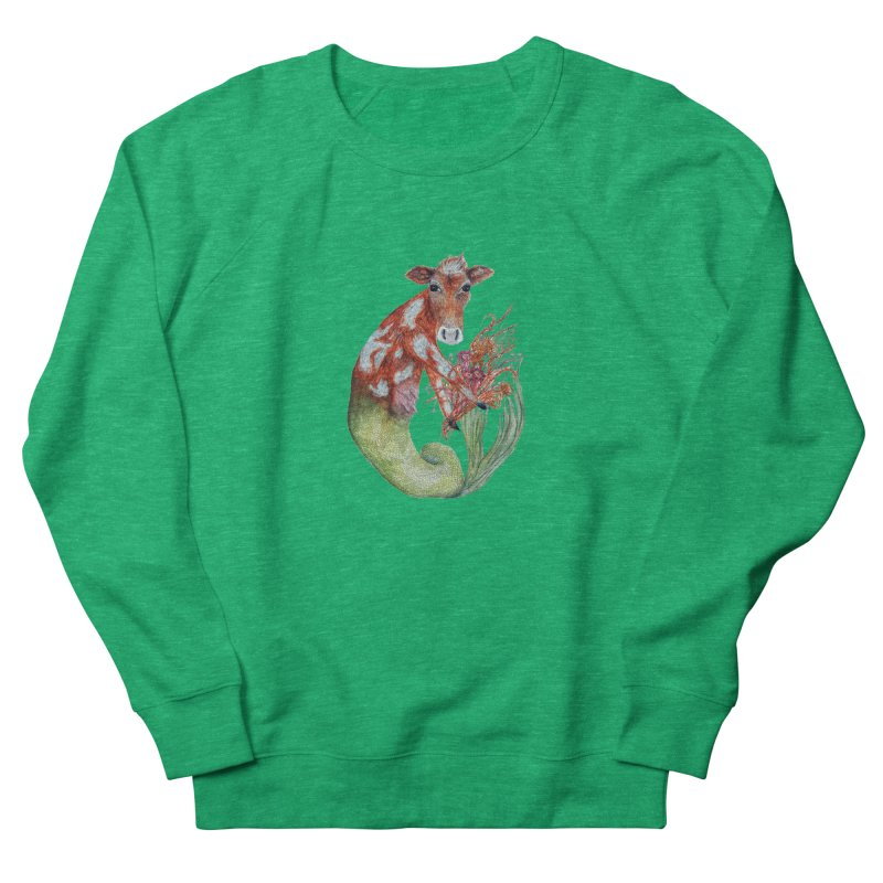 MerMoo Women's Sweatshirt by FoxandCrow's Artist Shop