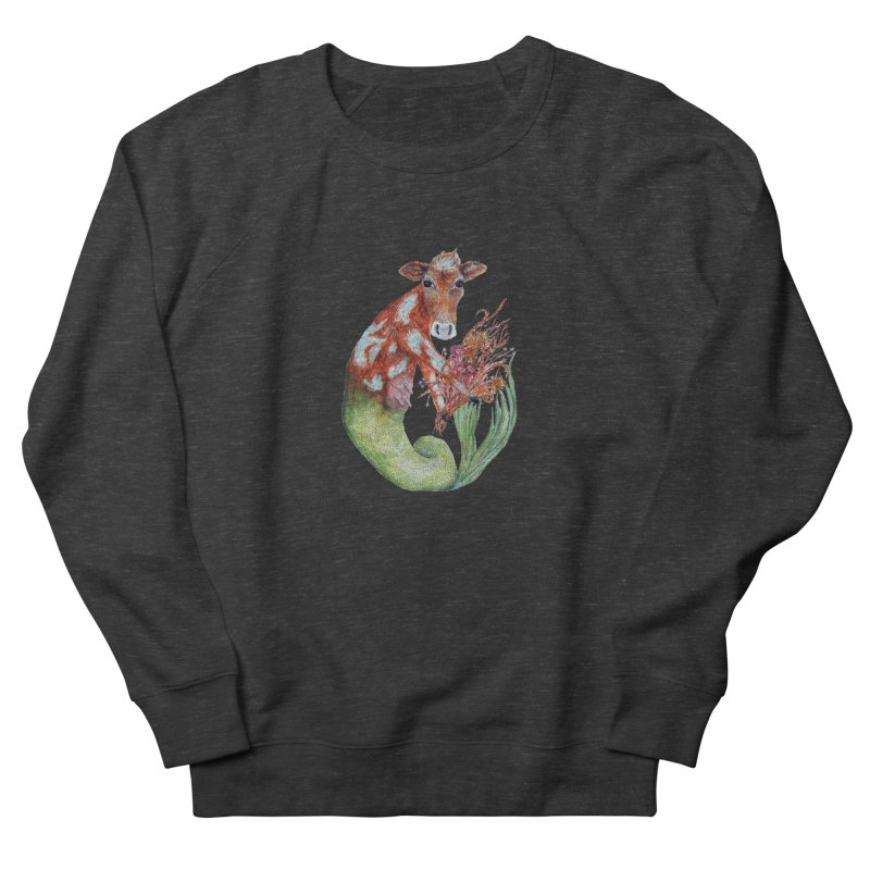 MerMoo Women's French Terry Sweatshirt by FoxandCrow's Artist Shop