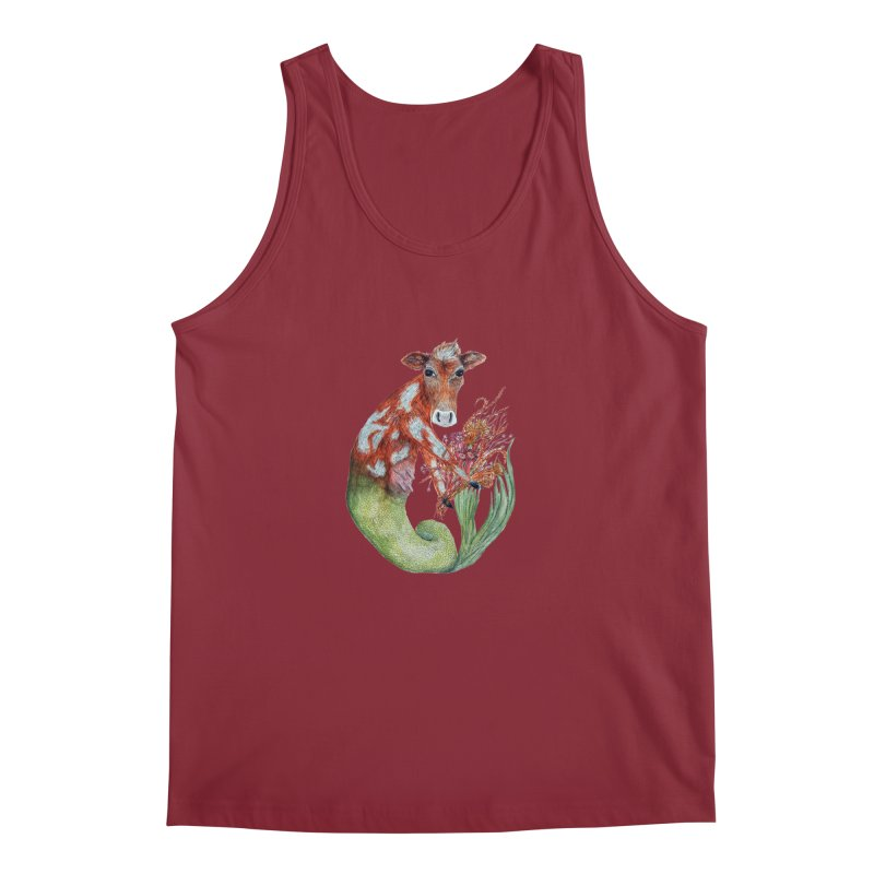 MerMoo Men's Tank by FoxandCrow's Artist Shop