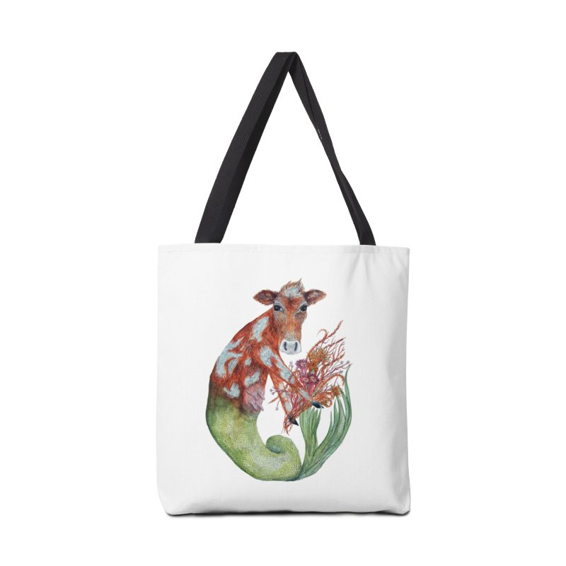 MerMoo Accessories Tote Bag Bag by FoxandCrow's Artist Shop