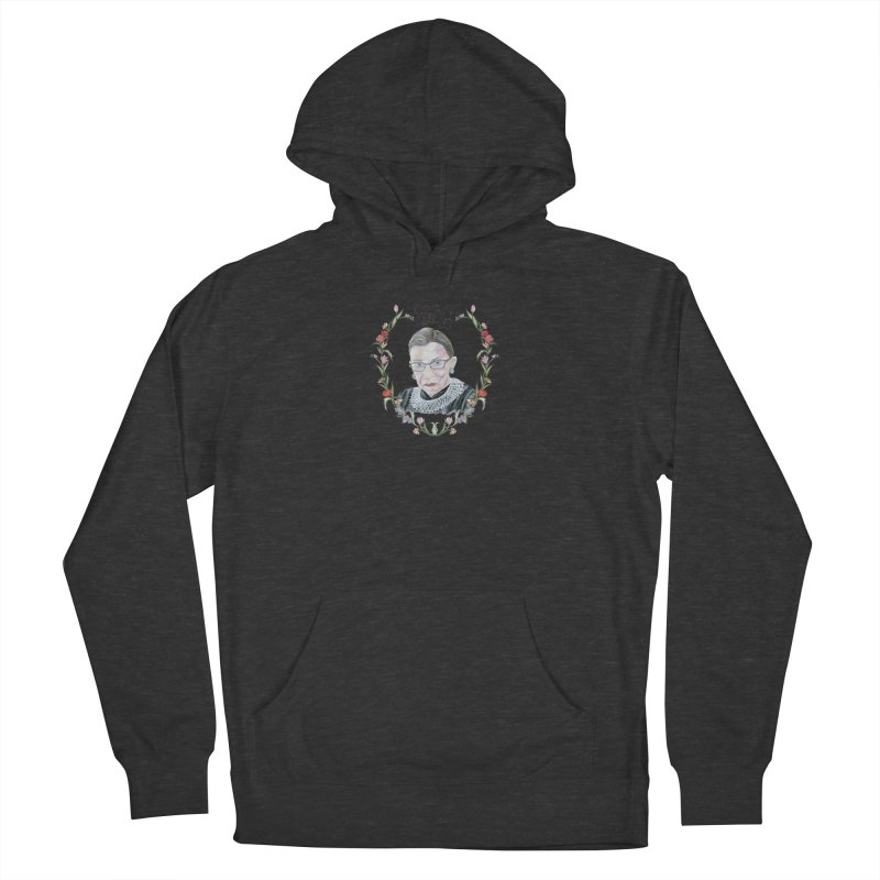 RBG Men's French Terry Pullover Hoody by FoxandCrow's Artist Shop