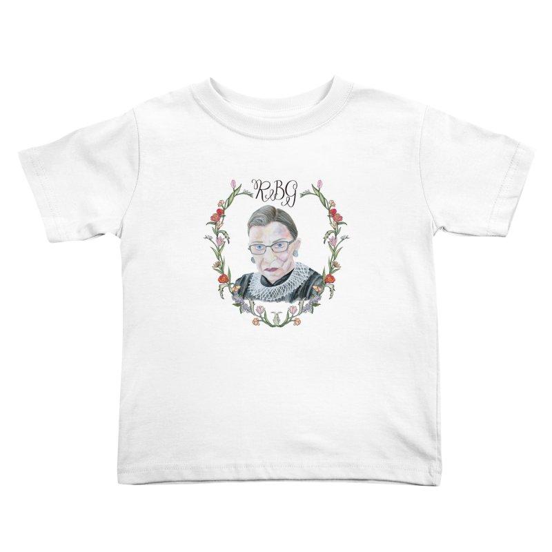 RBG Kids Toddler T-Shirt by FoxandCrow's Artist Shop