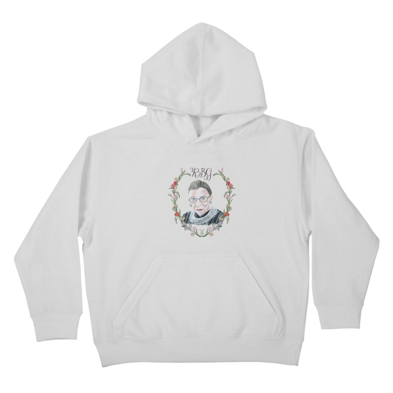 RBG Kids Pullover Hoody by FoxandCrow's Artist Shop