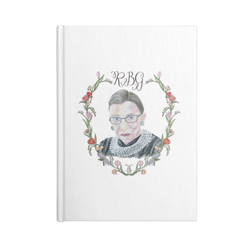 RBG Accessories Blank Journal Notebook by FoxandCrow's Artist Shop