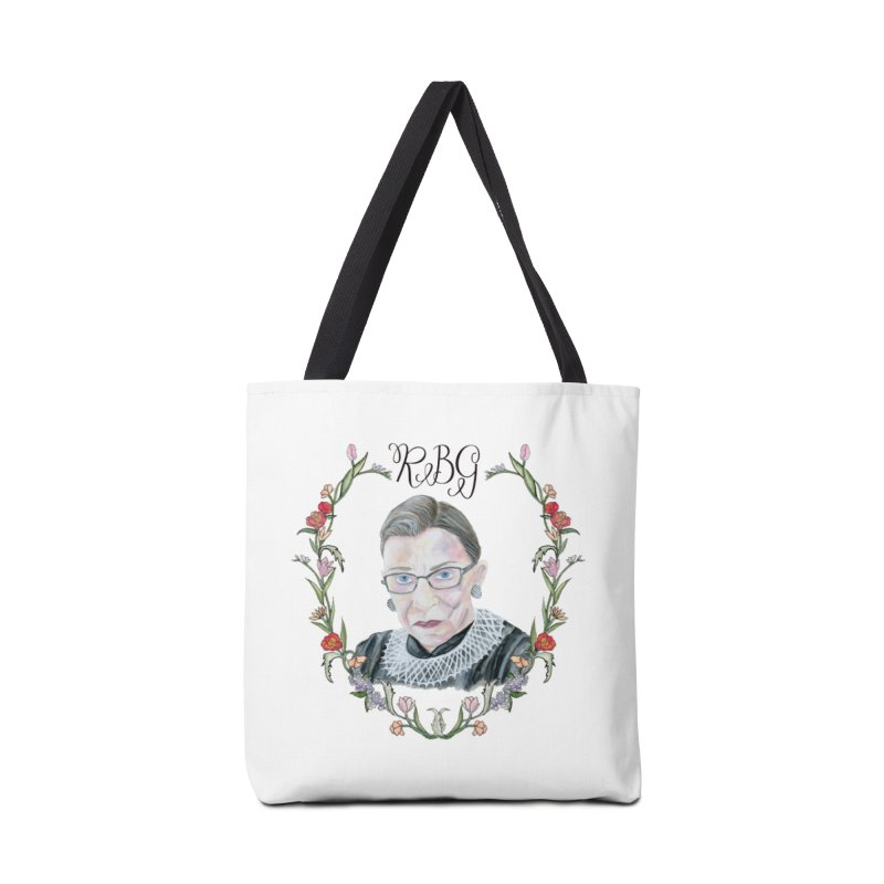 RBG Accessories Tote Bag Bag by FoxandCrow's Artist Shop