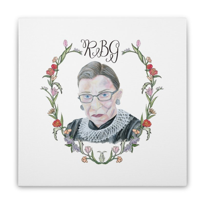 RBG Home Stretched Canvas by FoxandCrow's Artist Shop