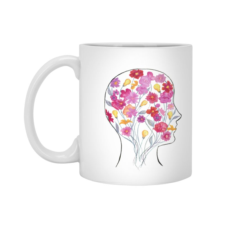 Mind Garden Accessories Standard Mug by FoxandCrow's Artist Shop
