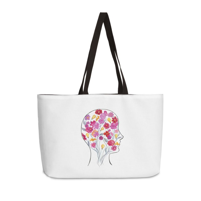 Mind Garden Accessories Bag by FoxandCrow's Artist Shop