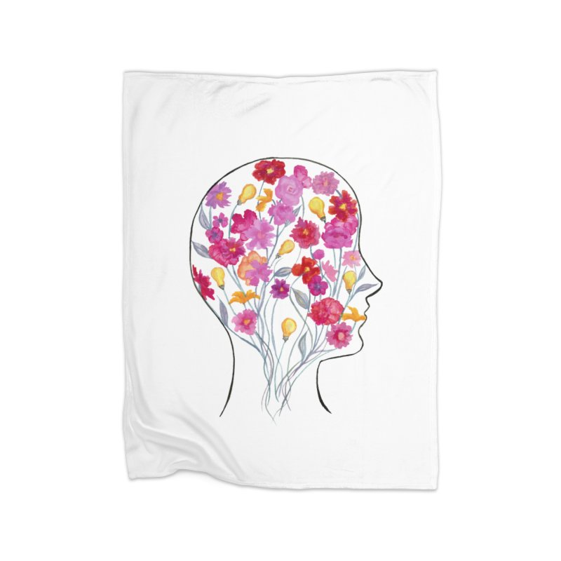 Mind Garden Home Blanket by FoxandCrow's Artist Shop