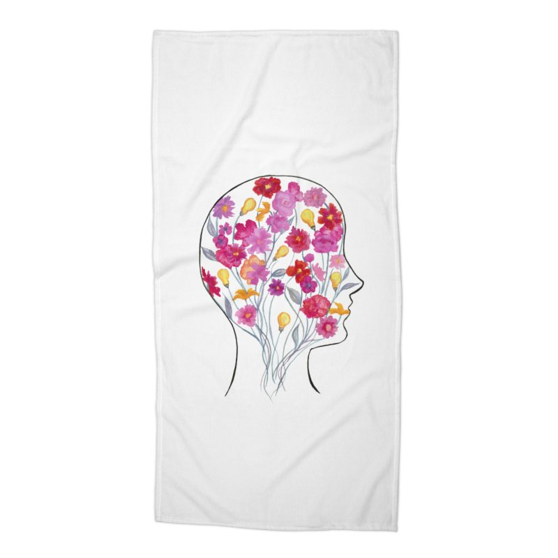 Mind Garden Accessories Beach Towel by FoxandCrow's Artist Shop