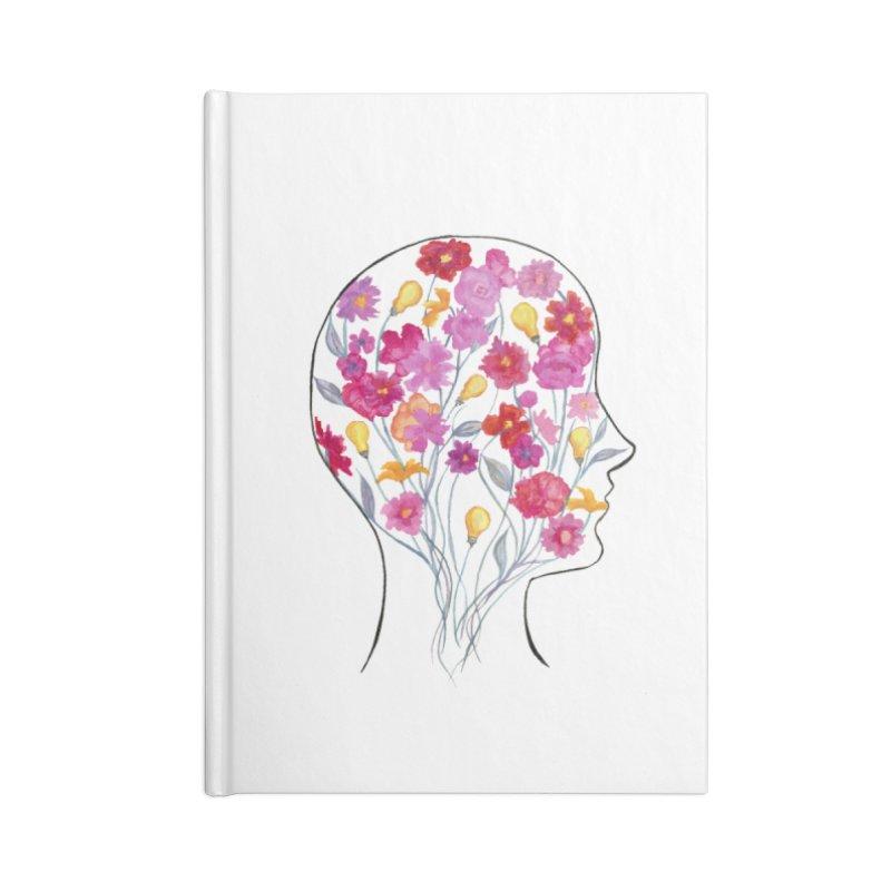 Mind Garden Accessories Notebook by FoxandCrow's Artist Shop