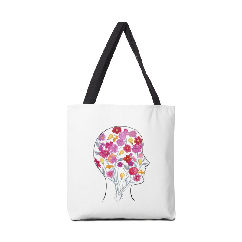 Mind Garden Accessories Tote Bag Bag by FoxandCrow's Artist Shop