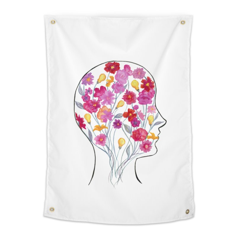 Mind Garden Home Tapestry by FoxandCrow's Artist Shop