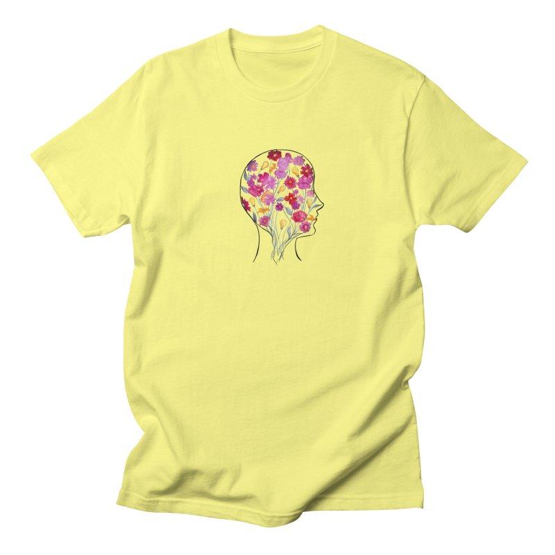 Mind Garden Women's Regular Unisex T-Shirt by FoxandCrow's Artist Shop