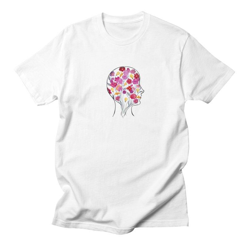 Mind Garden Men's Regular T-Shirt by FoxandCrow's Artist Shop