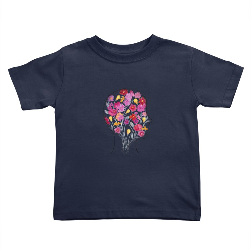 Mind Garden Kids Toddler T-Shirt by FoxandCrow's Artist Shop