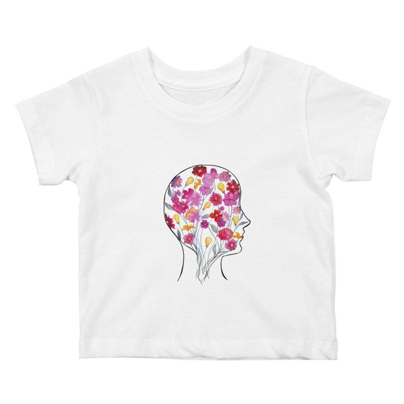 Mind Garden Kids Baby T-Shirt by FoxandCrow's Artist Shop