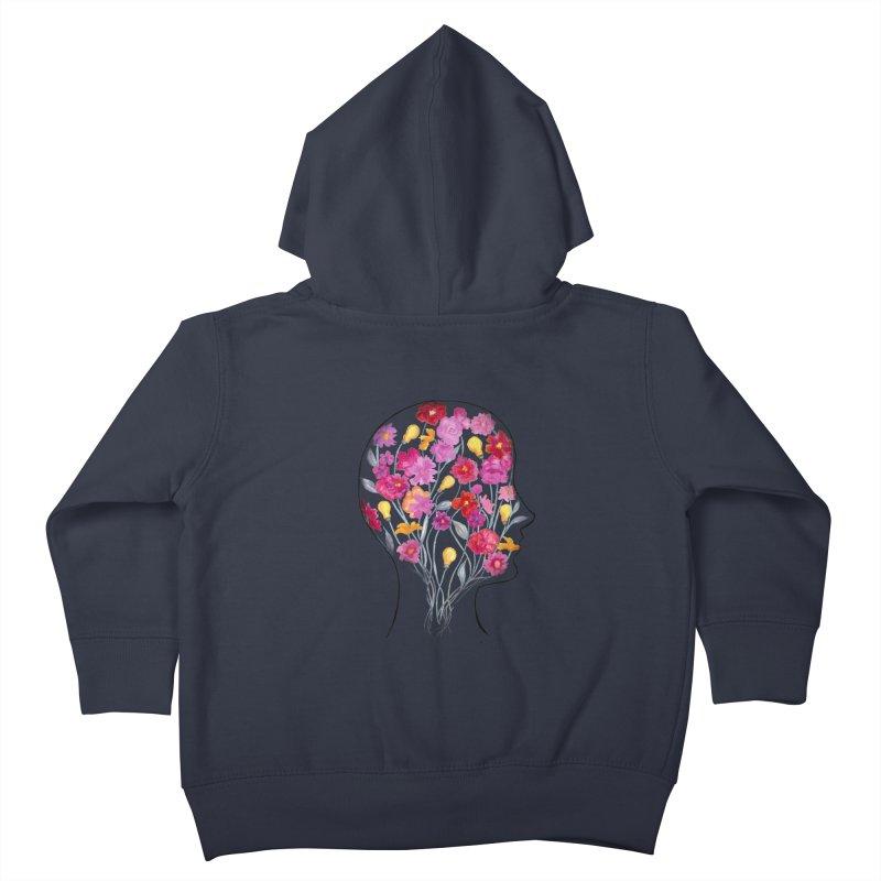 Mind Garden Kids Toddler Zip-Up Hoody by FoxandCrow's Artist Shop