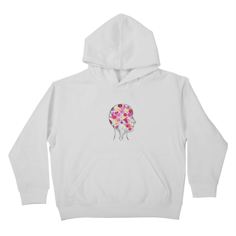 Mind Garden Kids Pullover Hoody by FoxandCrow's Artist Shop