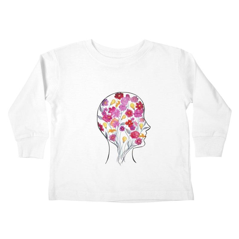 Mind Garden Kids Toddler Longsleeve T-Shirt by FoxandCrow's Artist Shop