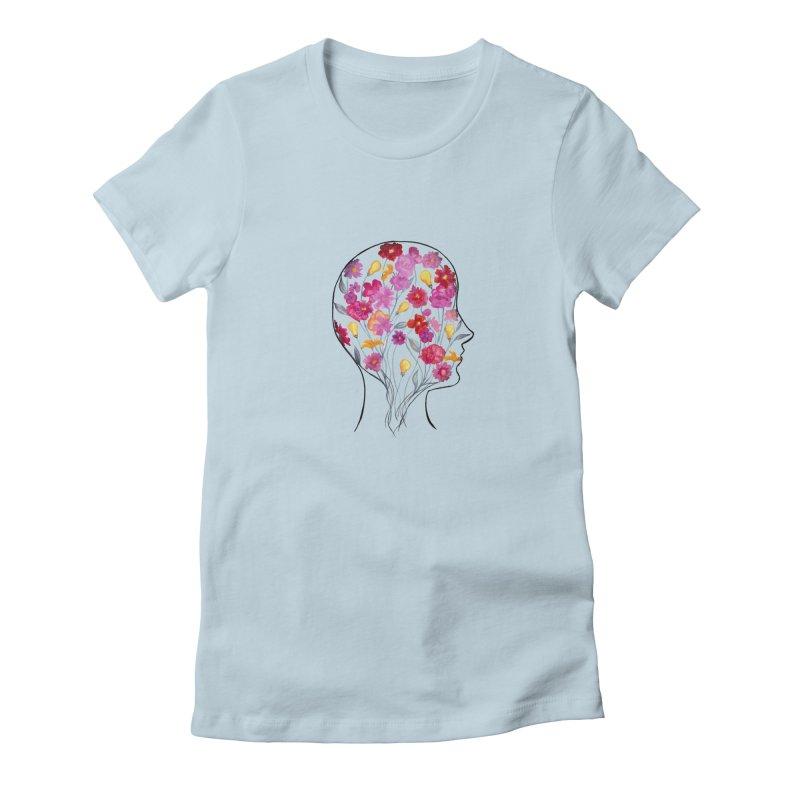 Mind Garden Women's T-Shirt by FoxandCrow's Artist Shop