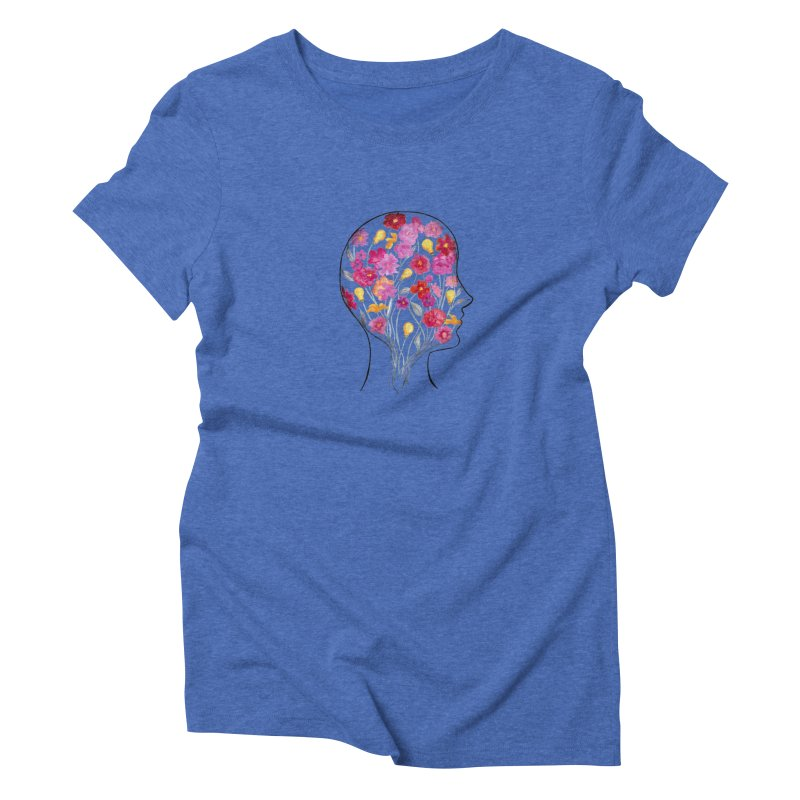 Mind Garden Women's Triblend T-Shirt by FoxandCrow's Artist Shop