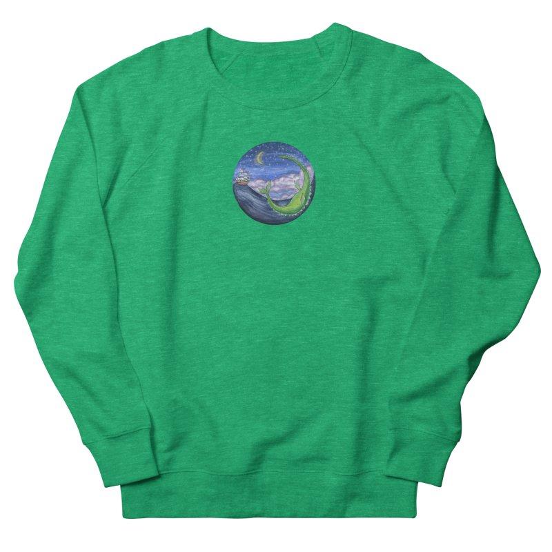 Sea Monster Night Women's Sweatshirt by FoxandCrow's Artist Shop