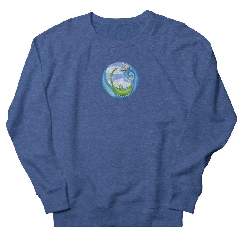 Sea Monster Play Time Men's Sweatshirt by FoxandCrow's Artist Shop