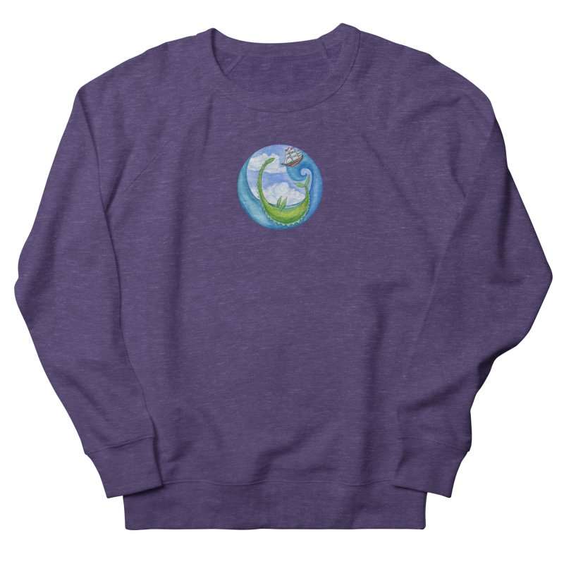 Sea Monster Play Time Women's French Terry Sweatshirt by FoxandCrow's Artist Shop