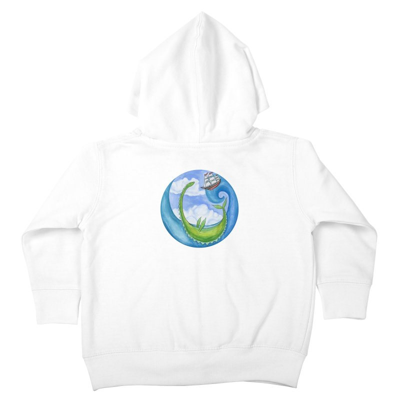 Sea Monster Play Time Kids Toddler Zip-Up Hoody by FoxandCrow's Artist Shop