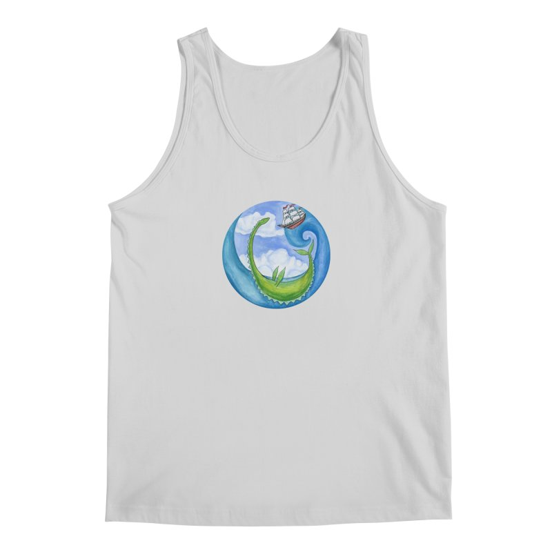 Sea Monster Play Time Men's Regular Tank by FoxandCrow's Artist Shop