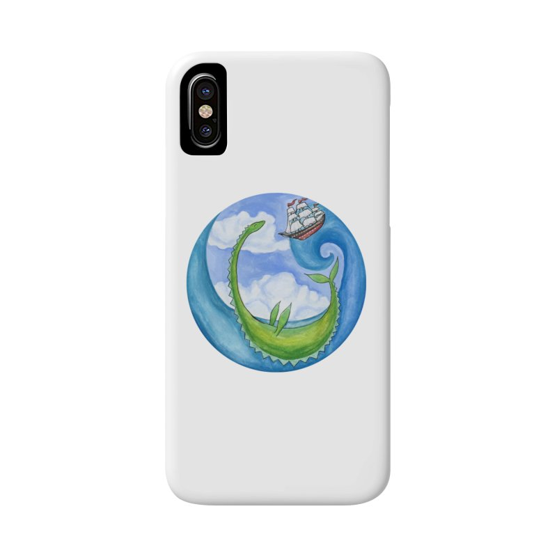 Sea Monster Play Time Accessories Phone Case by FoxandCrow's Artist Shop