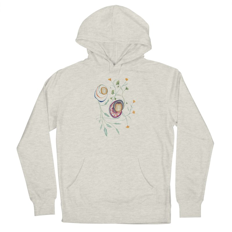 Growth and Flow Women's French Terry Pullover Hoody by FoxandCrow's Artist Shop