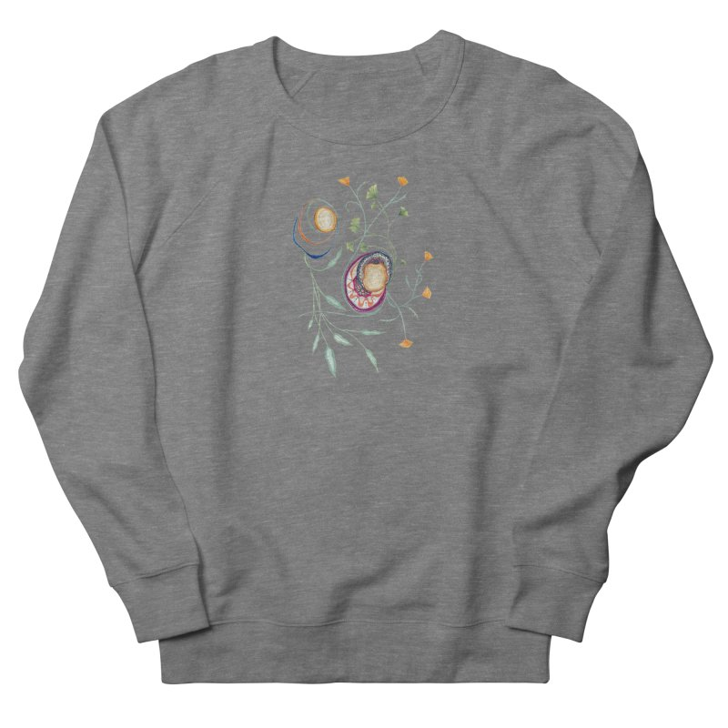 Growth and Flow Men's French Terry Sweatshirt by FoxandCrow's Artist Shop