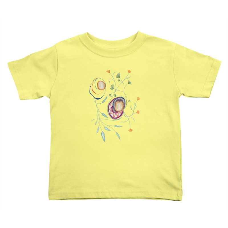 Growth and Flow Kids Toddler T-Shirt by FoxandCrow's Artist Shop