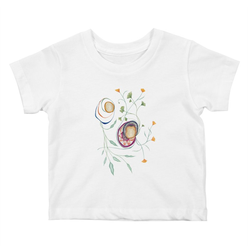 Growth and Flow Kids Baby T-Shirt by FoxandCrow's Artist Shop