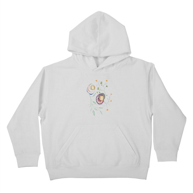 Growth and Flow Kids Pullover Hoody by FoxandCrow's Artist Shop