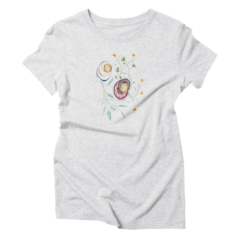Growth and Flow Women's T-Shirt by FoxandCrow's Artist Shop