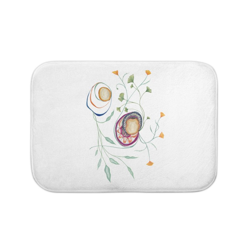 Growth and Flow Home Bath Mat by FoxandCrow's Artist Shop