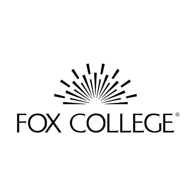 Fox College - (Black Variation) Men's T-Shirt by OFFICIAL FOX COLLEGE SPIRIT STORE