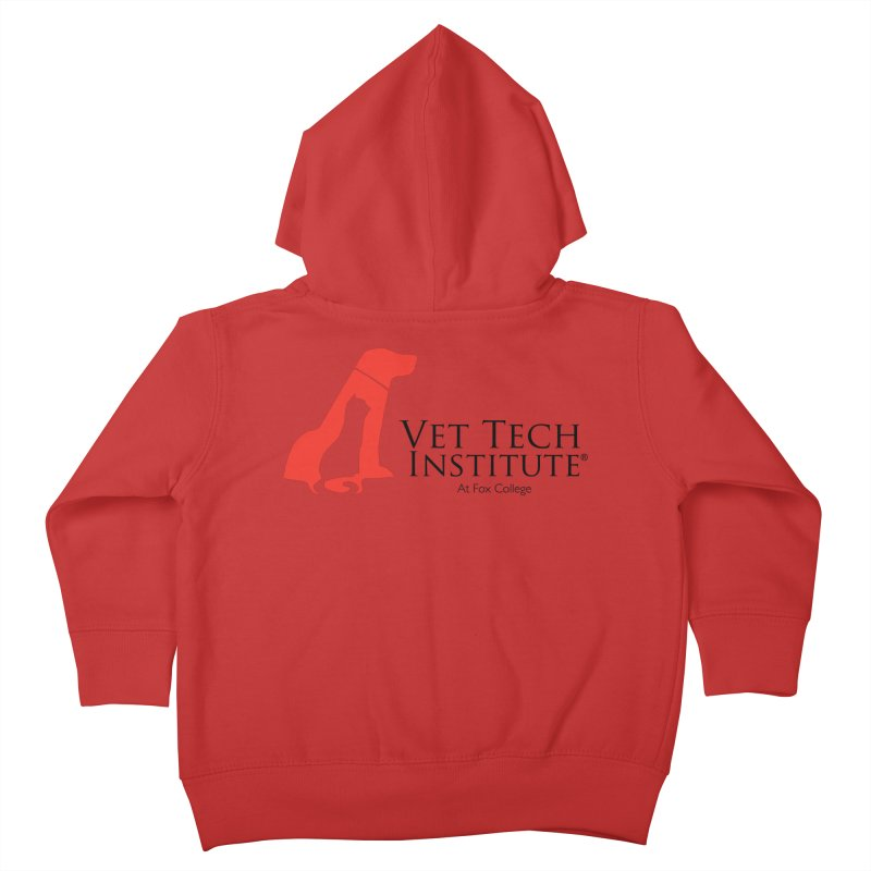 VTI Program Kids Toddler Zip-Up Hoody by OFFICIAL FOX COLLEGE SPIRIT STORE