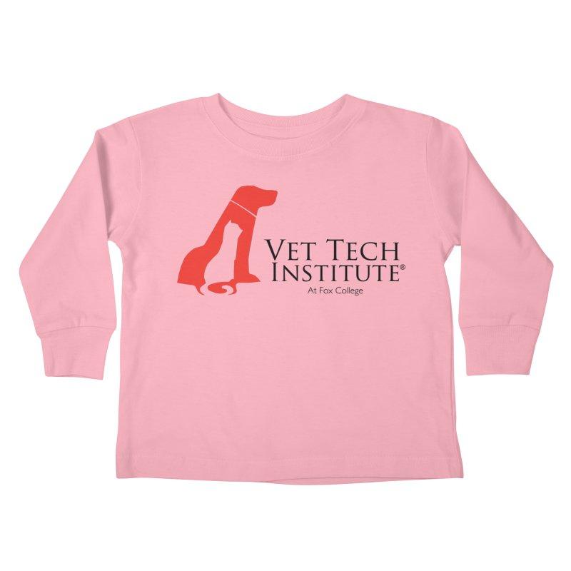 VTI Program Kids Toddler Longsleeve T-Shirt by OFFICIAL FOX COLLEGE SPIRIT STORE