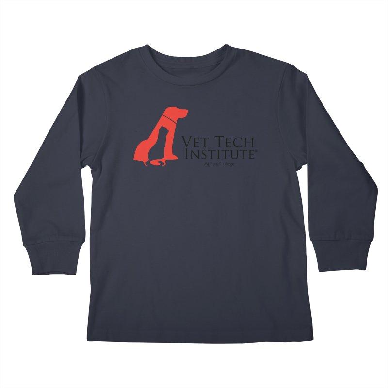 VTI Program Kids Longsleeve T-Shirt by OFFICIAL FOX COLLEGE SPIRIT STORE